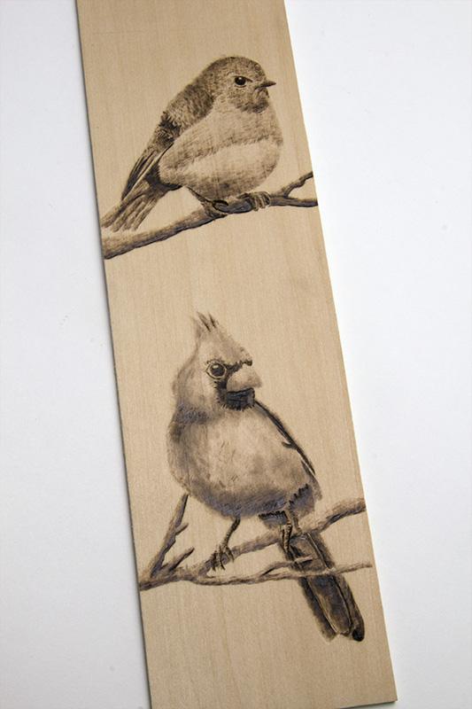 Bird Panel-Close-Up